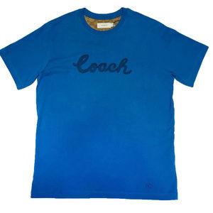 COACH Mens Script Vintage T Shirt F68807